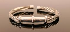 Sterling Silver and Stainless Steel Rope by UrpiPeruvianMarket