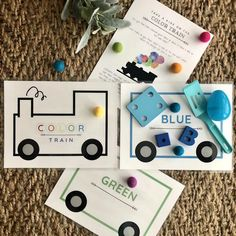Color Train Color Sorting Activity Preschool Colors Tot | Etsy Sorting Games, Sorting Activities, Preschool Learning Activities, Color Activities, Flip Flop Wreaths, Preschool Colors, Color Games, Tot School, Learning Colors