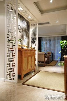 Xuan in the corridor-style decoration 2016