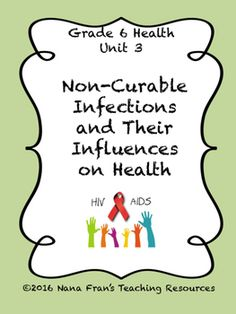This unit for Grade 6 Health Education is based on the Saskatchewan curriculum. It is not intended to be the ultimate in lesson planning for Health classes. Although it can be used as is, the intention is to help teachers to have a jumping off point from which they can extend the lesson plans presented to meet the needs of their students.