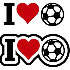 Silhouette Design Store - View Design I love soccer Soccer Pro, Soccer Drills, Soccer Games, Life Soccer, Soccer Goalie, Soccer News, Soccer Motivation, Intense Games, Father's Day