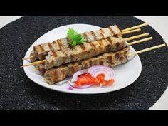 Σουβλάκι τέλεια ψημένο και πώς να το κρατήσετε ζουμερό! - pork souvlaki | Greek Cooking by Katerina - YouTube Greek Cooking, Waffles, Grilling, Breakfast, Food, Youtube, Morning Coffee, Crickets, Waffle