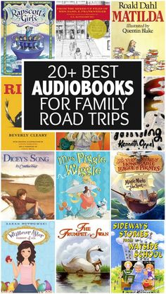 The season of family road trips must be upon us because I'm getting LOTS of emails and messages asking for recommendations for the best audiobooks for family road trips. Fortunately, I've been preparing for this post for years without even knowing it Road Trip With Kids, Family Road Trips, Travel With Kids, Family Travel, Audio Books For Kids, Childrens Books, Books To Read, My Books, Best Audiobooks