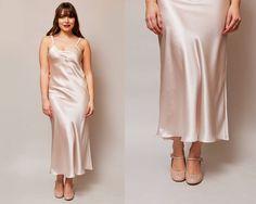 The Betty Slip / 1930s Inspired Bias Cut Slip / 30s Style Nightgown / Silk Lingerie / Handmade Vintage Lingerie / Bridal Lingerie by EffieButterworth on Etsy https://www.etsy.com/listing/514376670/the-betty-slip-1930s-inspired-bias-cut