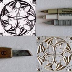 ▫️5/30▪️ #tatbalcarvings_challenge . . . . . . . . . #chipcarving #woodworking #woodwork #woodcarver #woodcarving #differencemakesus #patternchallenge #резьбаподереву #геометрическаярезьба