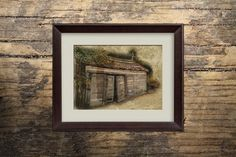 Prints For Sale - Fort Ross Shack Sonoma County California, Printable Art Decor by MDSPrintableArt on Etsy
