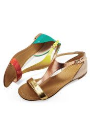 gold shoes please- hello summer!