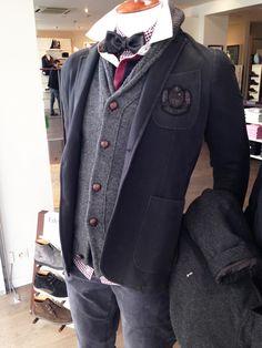Le blazer dans la boutique Eden Park de Reims en 2013