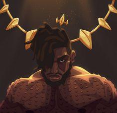 All Hail King Killmonger by Zat3am.deviantart.com on @DeviantArt