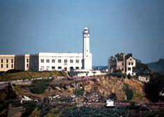 Alcatraz Island Lighthouse California