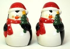 "Ceramic Penguin Salt & Pepper Set by general supply. $16.90. ""Ceramic Penguin Salt & Pepper Set, measures 2 wide, 2.75 tall."""