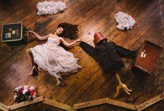 一個人的婚紗照,攝影師 Ryan Brenizer 拍出夢景與甜蜜的交錯