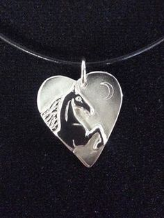 The Gorgeous Horse Jewelry! This pendant being given away on our Facebook page!