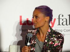 Nicole Richie at Lucky Fabb