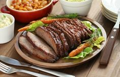 Slow Cooker Texas Style Beef Brisket - Delicious with a BIG taste of Texas!  www-GetCrocked.com