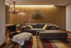 Oito exemplos de sofás no modelo em L para decorar a sua sal…