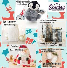 Xmas is coming! Love all of these scents Christmas range.