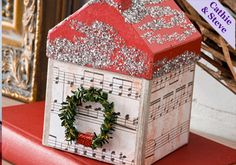 Decoupage - Christmas Village House