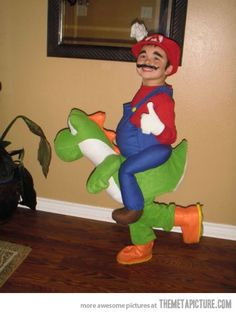 Best Mario and Yoshi costume ever made