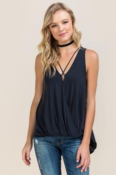Zuri X Neck Surplus Tank $38.00
