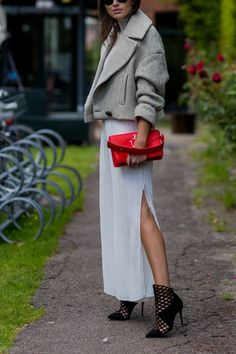 8 Ways to Layer Your Current Summer Pieces with New Fall Ones via @PureWow