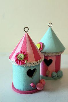 Pretty Birdhouses