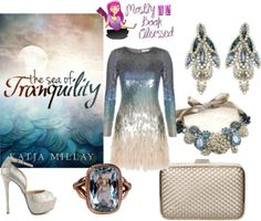 The Sea of Tranquility - http://myfashionobsessedlookbook.blogspot.com/2013/11/book-looks-15-sea-of-tranquility-by.html