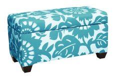 Skyline Furniture Walnut Hill Storage Bench in Gerber Surf Fabric by Skyline Furniture, http://www.amazon.com/dp/B003SLEEKK/ref=cm_sw_r_pi_dp_4psvqb122S5JR