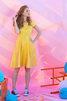 Bleecker Dress Yellow