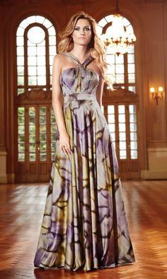 vestidos longos estampados 8