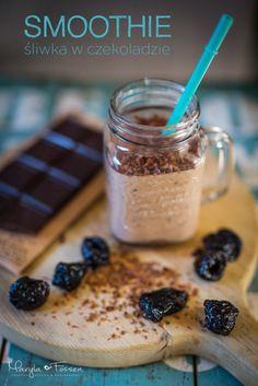 Smoothie- śliwka w czekoladzie