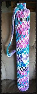 Yoga Mat Bag *Free* Crochet Pattern by DearestDebi