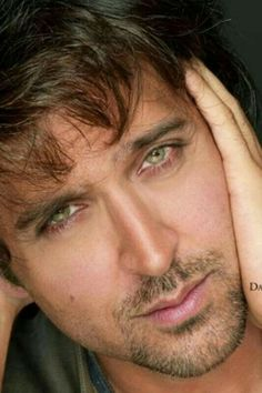 Dream on Abby Handsome Faces, Most Handsome Men, Bollywood Actors, Bollywood Celebrities, Beautiful Eyes, Gorgeous Men, Hrithik Roshan Hairstyle, Deep Set Eyes, Vijay Actor