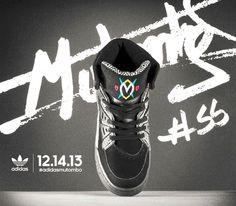 huge discount 142d3 c6b87 adidas Mutombo - Black   White