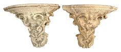Large Outdoor Wall Brackets - A Pair on Chairish.com