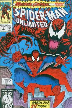 These comic books have been read. The estimated grade of these comic books is NM-. Spider-Man Unlimited, Vol. The Amazing Spider-Man, Vol. The Spectacular Spider-Man, Vol. Amazing Spiderman, Superhero Spiderman, Marvel Comic Books, Comic Books Art, Book Art, Wolverine, Hulk, Thor, Spider Man Unlimited