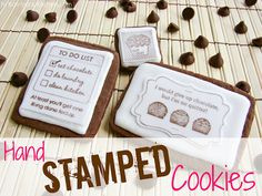 In Katrina's Kitchen: Hand Stamped Cookies and Sprinkle Bakes Giveaway