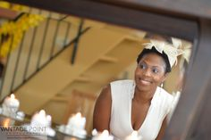 Atlanta Photographers | Bridal Showers | Bride | Mirror