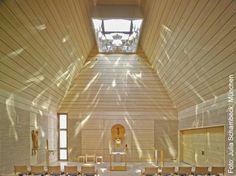 Kapelle St. Hedwig, Lighting Design by Bartenbach