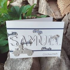 Baby Cards, Place Cards, Place Card Holders, Diy Crafts, Lettering, Card Ideas, Instagram, Inspiration, Birth