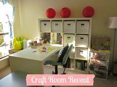 Ikea Expedit Craft Room - Married Minzilla: 05.12
