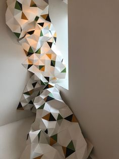 thesignspeaking - Origami for the LOEWE SOLO fragrance exhibition at Casa Decor