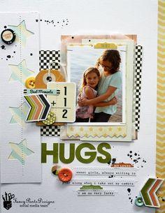 Random Ramblings...: Hugs with Fancy Pants
