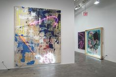 Thrush Holmes: Heavy Painting   Installation Views   Mike Weiss Gallery