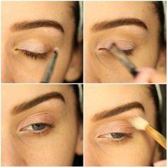 DIY & Tips Makeup Tutorials  2017 / 2018    Apply eyeshadow   Rose Gold Makeup Tutorial Perfect For Any Season    -Read More –