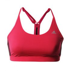 Estrena el nuevo diseño de Top Clima Essentials de Adidas y siéntete cómoda y fresca durante tu entrenamiento.