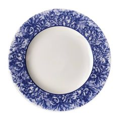 product image for Caskata Peony Charger Plate in Blue