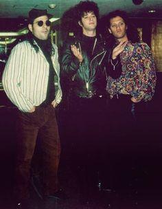 """Gira """"Canción Animal"""" Conferencia de prensa México D.F. 13 de Febrero de 1991 Soda Stereo, Led Zeppelin, Percy Jackson, Rolling Stones, The Beatles, Rock And Roll, Revolution, Wave, God"""