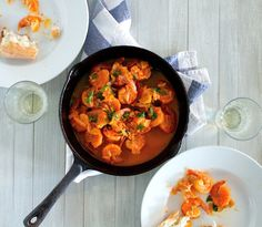 portuguese spicy shrimp camarao mozambique recipe that is deliciously easy to make. Perfect recipe to have on hand for a quick meal as well it is a crowd pleaser .