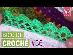 Bico de crochê fácil e bonito para iniciante #36 | passo a passo - YouTube